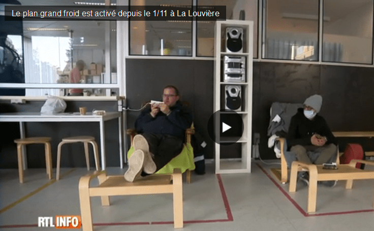 COVID & Plan Grand Froid – Nos abris restent ouverts