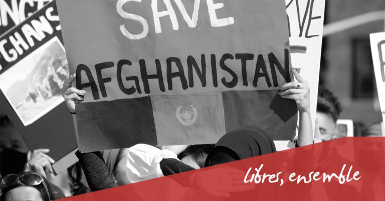 Carte blanche. Afghanistan | Lettre ouverte aux député.e.s belges