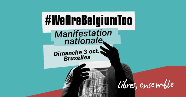 #WeAreBelgiumToo