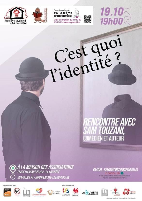 Rencontre-débat avec Sam Touzani «Dis, c'est quoi l'identité?»